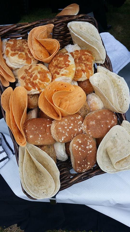 Selection of Breads and Wraps