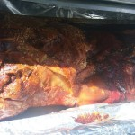 Succulent Hog Roast Ready To Carve