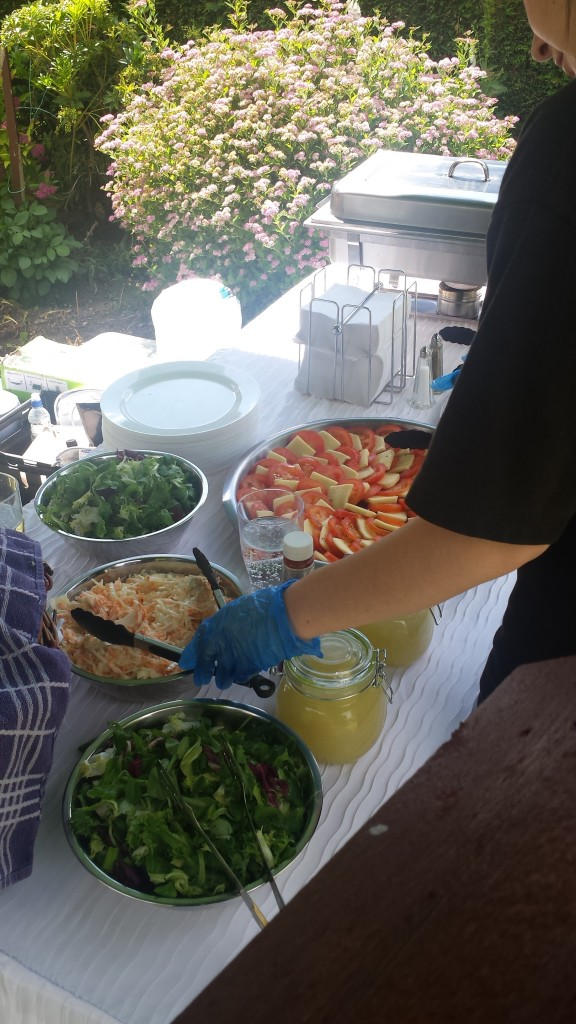 Outdoor Catering - Selection of Fresh Salads