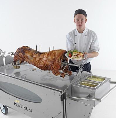 Spittingmn Pig Northern UK Chef