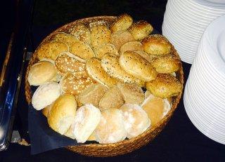 Floured Bread Rolls