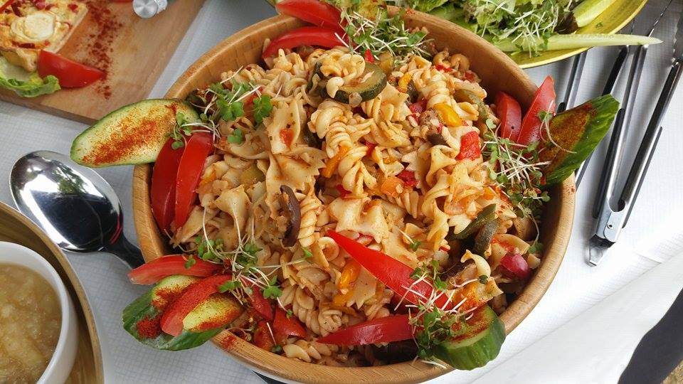 Homemade Mediterranean Pasta Salad