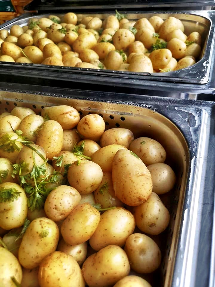 Herb And Butter Potatoes